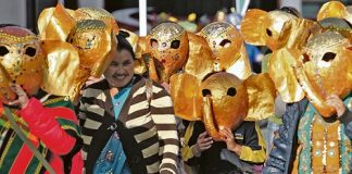 More than 4000 people turned out to take part in the biggest ever Masked Parade on Friday night.