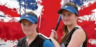 Stoke Eagles sisters Hannah and Lorin Cook have been selected in Great British age group softball teams.