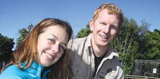 Mike Rutledge and Meg Selby, the new owners of Natureland have officially taken over. Photo: Sinead Ogilvie.