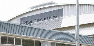 Trafalgar Centre is now closed.