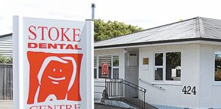 The Stoke Dental Centre on Main Rd Stoke is now closed and its owner is no longer a registered dentist.