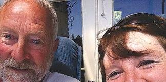 Mike Stevens and Lynette Miller.