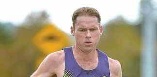 Phil Costley is running in the Buller Marathon this Saturday. Photo: Barry Whitnall/shuttersport.co.nz.