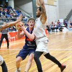NELSON, NEW ZEALAND - MAY 19: NBL Basketball Nelson Giants v Hawks on May 19 2017 in Nelson, New Zealand. (Photo by: Evan Barnes Shuttersport Limited)