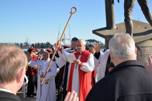 Blessing of the Fleet on Saturday. Photo by Brittany Spencer.