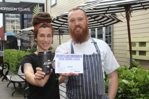 Kate Breault and Fred Archer from Morri St Café;