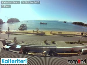Snapit HD cameras in Kaiteriteri.