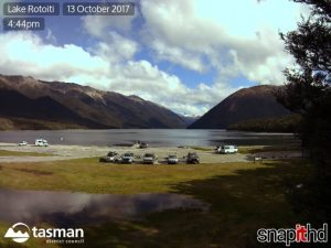 Snapit HD cameras in Lake Rotoiti.