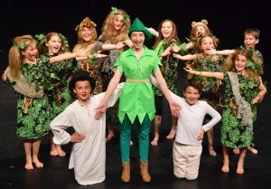 Some of the Nelson Youth Theatre Company's cast of Peter Pan Jr. Photo: Supplied.