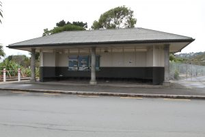 The Hounsell Circle Bus Shelter was also assessed to have earthquake rise. Photo: Kate Russell.