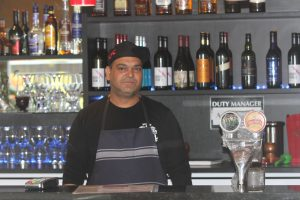 Head chef at the Taaj Indian Restaurant and Café in Tahuna Rama Kank. Photo: Jonty Dine.