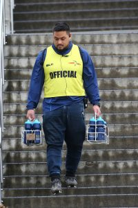 Hames even carries the water in his coaching role with Nelson College. Photo: Shuttersport.